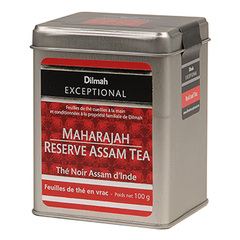 The noir assam d'Inde Dilmah 100g