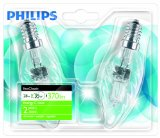 2 Ampoules flamme -