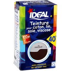 Teinture chocolat pour coton lin soie viscose fixateur tous les produi - Teinture ideal polyester ...