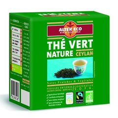 The vert bio Alter Eco Ceylan 40g