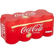 Coca-Cola vanille (8x330ml) - Paquet de 2