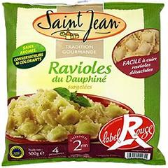 Ravioles de Romans Label Rouge SAINT JEAN, 500g