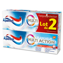 Aquafresh dentifrice multi actions blancheur 2x75ml