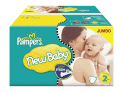 Couches New Baby  mini T2 3/6kg format Jumbo