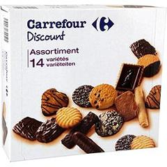 Assortiment biscuits 12 variétés.