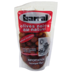 Barral olives noires au naturel 125g