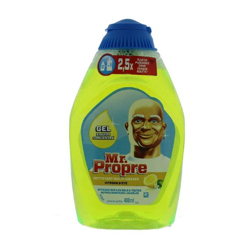 Mr propre gel liquide citron 400ml