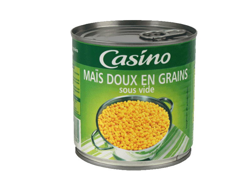 Mais doux en grains Casino