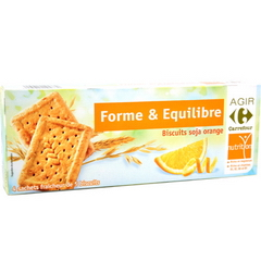 Biscuits soja orange - Forme & Equilibre