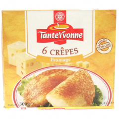 Crepes Tante Yvonne Fromage x6 300g