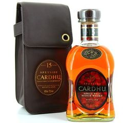 Cardhu single malt 15ans 40° -70cl + etui city