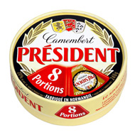 President camembert portion x8 -240g