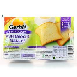 pain brioch tranch sans gluten pr t consommer tous les produits produits di t tiques prixing. Black Bedroom Furniture Sets. Home Design Ideas