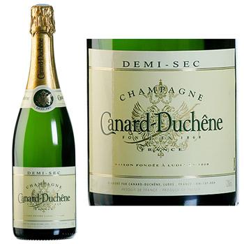 champagne canard duchene demi sec 75cl tous les produits champagnes prixing. Black Bedroom Furniture Sets. Home Design Ideas