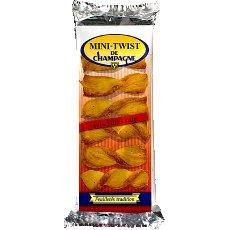 Biscuits aperitif nature Mini Twist de Champagne, 100g