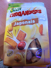 Crackers Japonais, 125g