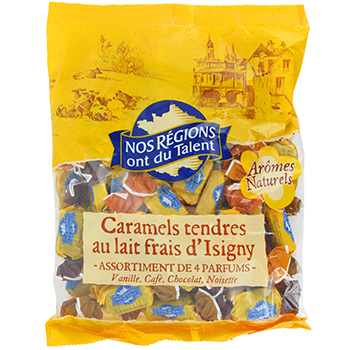 Caramels lait Isigny Nos Regions ont du Talent 350g