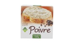 Fromage poivre, à tartiner 125g