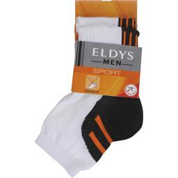 eldys socquettes sport jersey coolmax ride homme t39 42 le lot de 2 tous les produits lingerie. Black Bedroom Furniture Sets. Home Design Ideas