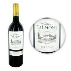 Chateau Talmont Vin rouge - 13,00% vol - 2010