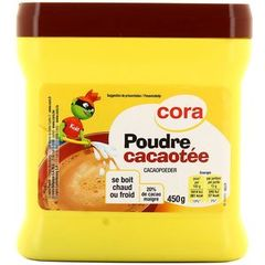 Cora kido poudre cacaotee 450g