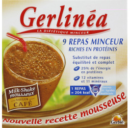 Gerlinea, mon repas - milk-shake cafe, la boite de 9 ...
