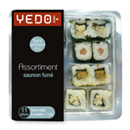 Yedo maki california assortiment 11 pièces barquette 202g
