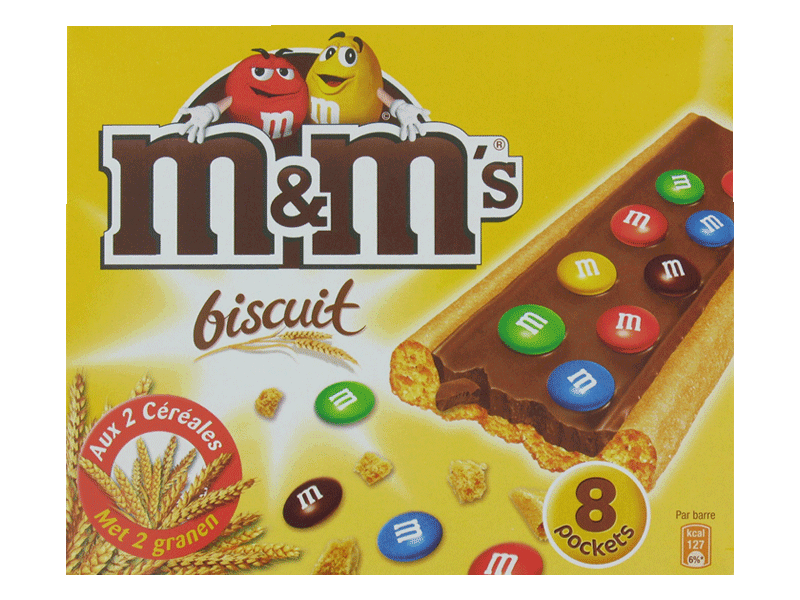 8 M&M's Biscuit Pockets