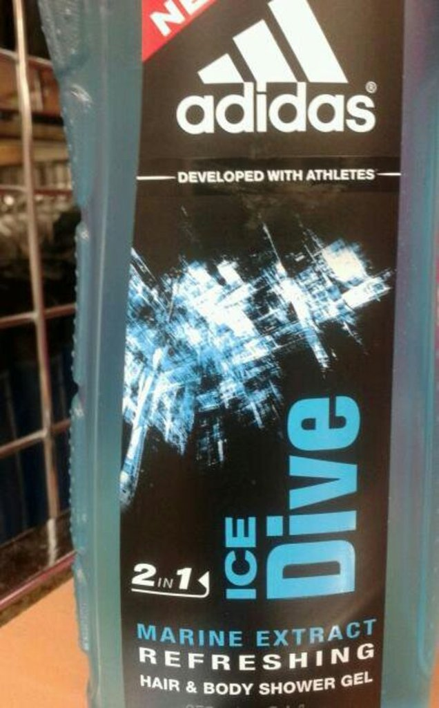 Adidas douche homme ice dive 250ml