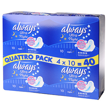 Always ultra nuit quattro 4x10