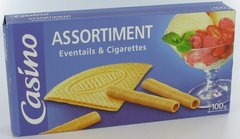 Biscuits assortiment eventails & cigarettes