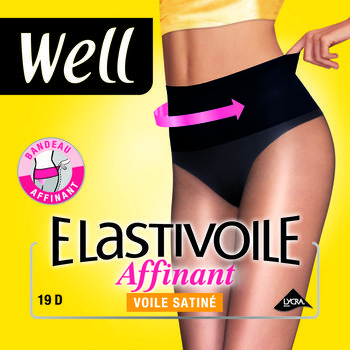Well Elastivoile - Collant affinant T2 noir le collant