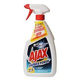 Nettoyant douche Ajax Pistolet shower power 600ml