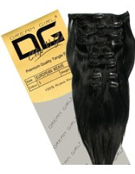 Dream Girl Extensions capillaires à clipser Couleur 1 45 cm