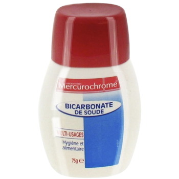 Bicarbonate de soude mercurochrome 75g tous les produits parapharmacie p - Deboucher toilette bicarbonate soude ...