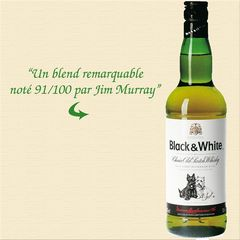 Black and White whisky 40° -70cl