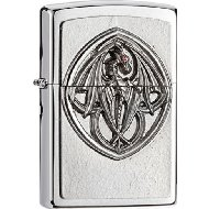 Zippo 2001332 No.200 Dragon with Wings Emblem Cigarette Lighter