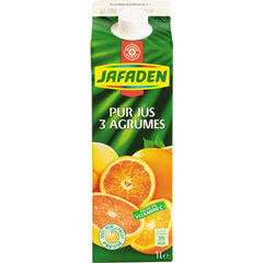 Jus 3 agrumes Jafaden Pur 1l