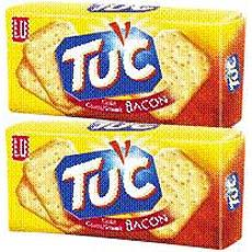 Crackers gout bacon TUC, 2x100g