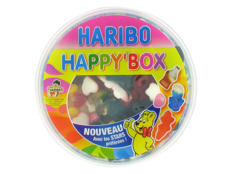 Bonbons Happy Box HARIBO, 600g