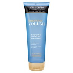John Frieda shampooing epaississant, volume brillance a l'huile d'argan et figue 1x250ml