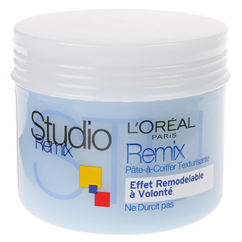 Pate-a-coiffer Studio remix Effet remodelable 150ml