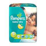 couches baby dry x23 taille 5 pampers