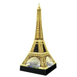 Puzzle 3D Building Tour Eiffel Night