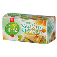 Infusion Tisea reglisse menthe x25