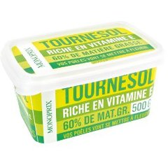 Margarine au tournesol, riche en vitamine E