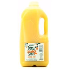Jus d'orange ultra frais
