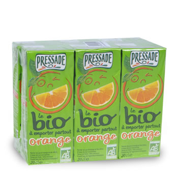 Nectar bio Pressade Orange 6x20cl