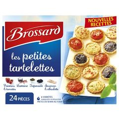 Assortiments Mini Tartelettes Brossard X24 300G