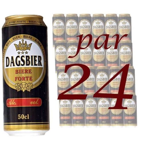 Pack Dagsbier Forte 50cl boite x24 8°